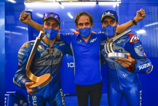 DAVIDE BRIVIO AND TEAM SUZUKI ECSTAR PART WAYS