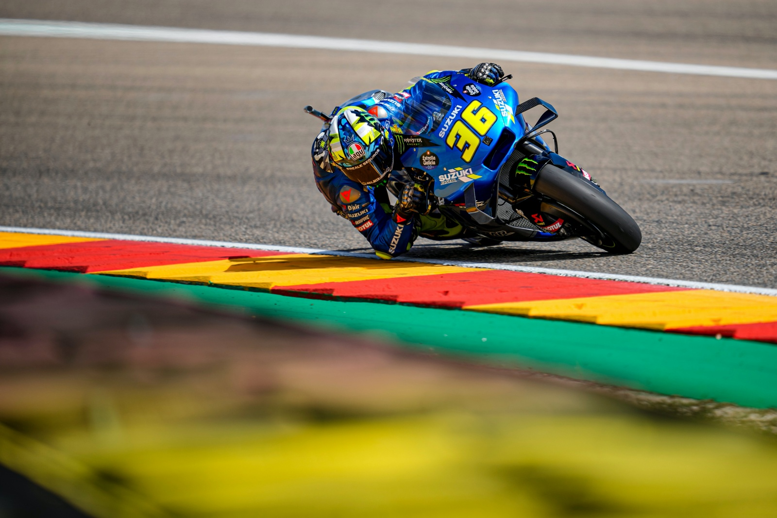 SUZUKI SEARCHING FOR MORE AT MOTORLAND ON FRIDAY