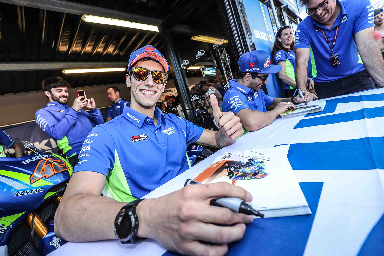 MEET THE RIDERS IN MISANO THANKS TO 2 WHEELS FOR LIFE