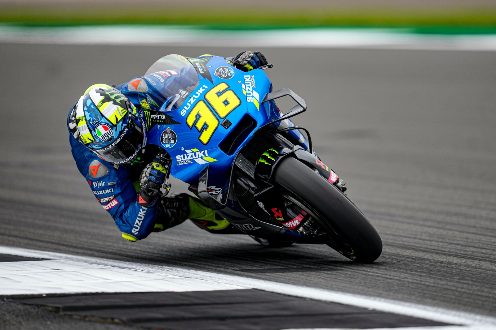 BUILDING THE FEELING ON DAY 1 AT THE BRITISH GP