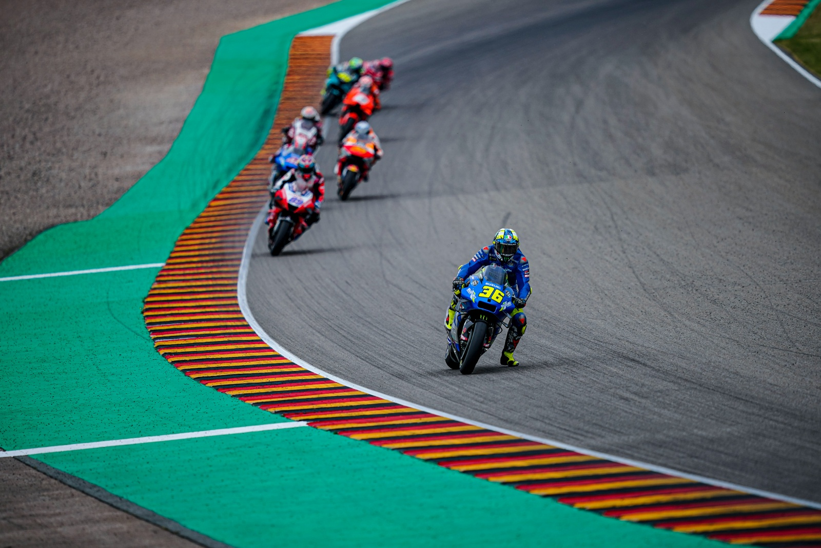 USEFUL POINTS IN SACHSENRING FOR SUZUKI RIDERS